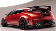 Honda Civic Type R Concept : elle sera à Genève !