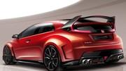 Honda Civic Type R 2015 : nouvelle génération, premier teaser