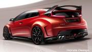 Première photo de la Honda Civic Type R Concept