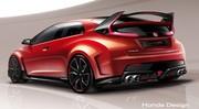 Honda Civic Type R Concept 2014 : 280 chevaux attendus au Salon de Genève