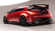 Honda Civic Type R concept, pour patienter