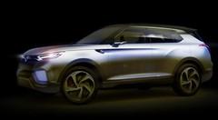 SsangYong XLV Concept : Hybride-diesel et 7 places !