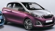 Peugeot 108 2014 : première photo en fuite