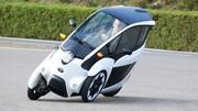 Essai Toyota i-Road : L'électrique mi-auto, mi-moto