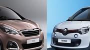 Match anticipé : Nouvelle Peugeot 108 vs nouvelle Renault Twingo
