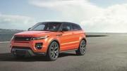 Le Range Rover Evoque affiche dorénavant 285 ch