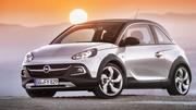 Opel Adam Rocks 2014 : une citadine découvrable façon crossover