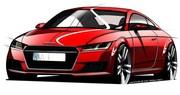 Audi TT 3 2014 : premières infos et esquisses officielles