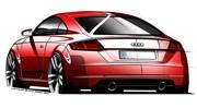 Le nouvel Audi TT se dessine