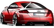 Premier teaser de l'Audi TT 2014