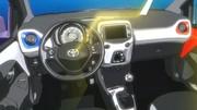 L'habitacle de la Toyota Aygo 2