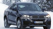 Le BMW X4 quasiment à poil !