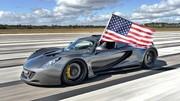 La Hennessey Venom atteint 435.31 km/h, bat la Bugatti Veyron SS mais pas officiellement