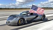 La Hennessey Venom GT bat le record de vitesse de la Bugatti Veyron