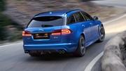 Jaguar XFR-S Sportbrake : Finies les bonnes manières