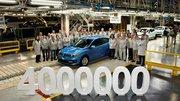 4 millions de Renault Mégane produites à Palencia en Espagne