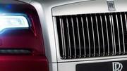 Rolls-Royce Ghost Series II 2014 : première photo officielle de la berline restylée