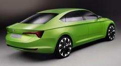 Skoda VisionC Concept 2014 : une berline taillée à la serpe