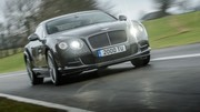 Bentley Continental GT Speed 2014 : la puissance grimpe à 635 chevaux