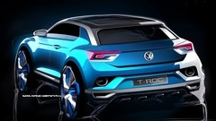 Le Volkswagen T-Roc en dessin