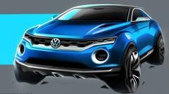 Le concept-car Volkswagen T-ROC se montre en esquisses