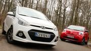 Essai Hyundai i10 vs Toyota iQ : 3 ou 5 portes ?