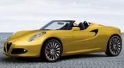 Un concept d'Alfa Romeo 4C Spider attendu ?