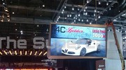 Première image de l'Alfa Romeo 4C Spider