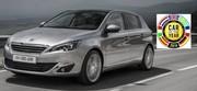"""La Peugeot 308 élue """"Voiture de l'année 2014"""""""