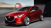 Mazda Hazumi Concept : la ''2'' en filigrane