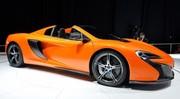 La McLaren 650S Spider enlève le haut