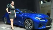 Le nouveau coupé premium hybride Lexus RC-F