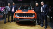 Jeep présente son Renegade, le SUV anti-Juke