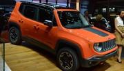 Jeep Renegade : Nos images au Salon de Genève