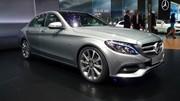 La nouvelle Mercedes Classe C affiche sa sensualité à Genève