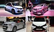 Citroën C1, Peugeot 108, Toyota Aygo et Renault Twingo s'affrontent déjà !