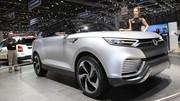 Ssangyong XLV : un nouveau SUV compact à sept places en filigrane