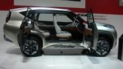 Mitsubishi GC-PHEV Concept: physique ingrat