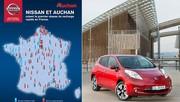 Bornes de charge : Auchan leader devant Leclerc
