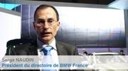 Visite du stand BMW au Salon de Genève avec Serge Naudin