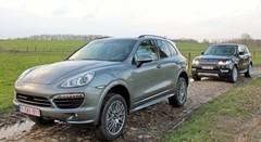 Essai Range Rover Sport vs Porsche Cayenne : Toujours prêts ?