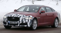 La Jaguar XJ attend son facelift !
