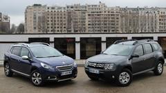 Essai Dacia Duster vs Peugeot 2008 : La guerre des mondes