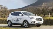 Essai Hyundai ix35 Fuel Cell : 3 minutes... pour faire 594 km !