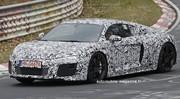 Future Audi R8 : Déjà sur la piste