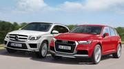 Audi Q5 2016 contre Mercedes GLK 2015 : Duel relancé