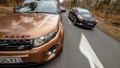 Essai Range Rover Evoque SD4 BVA9 vs Citroën DS5 BlueHDi 180 BVA6 : Sobres ostentatoires