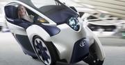 Toyota i-Road : le 3-roues électrique entre en phase de test