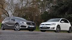 Essai Mercedes Classe A 220 CDI vs Volkswagen Golf 7 GTD : Lutte des classes