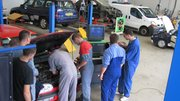 Les métiers de l'automobile prennent part à la semaine de l'industrie